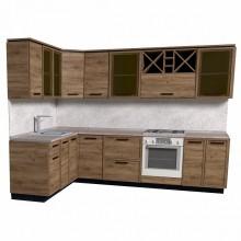 Corner modular kitchens