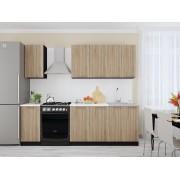 Кухня прямая Брауни-01
